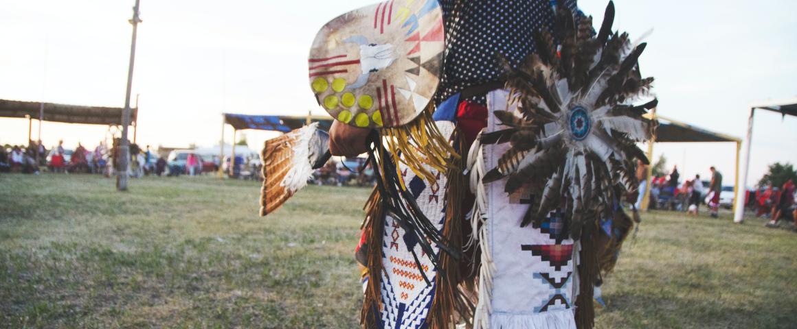 Danseur autochtone