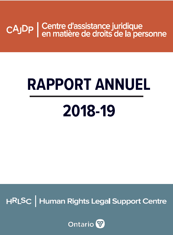 Rapport annuel 2018-19
